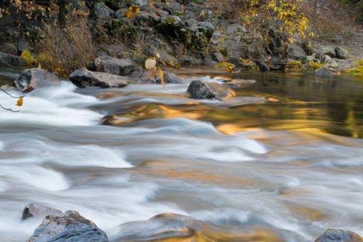 Rushing water, Yosemite