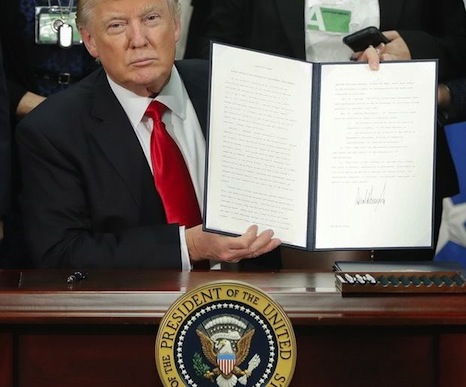 Trump executive orders re immigration