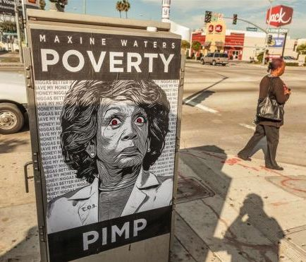 Maxine Waters Poverty Pimp