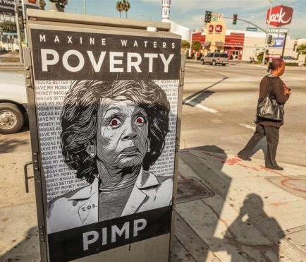 Maxine Waters: poverty pimp