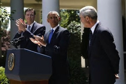 Obama Mueller Comey