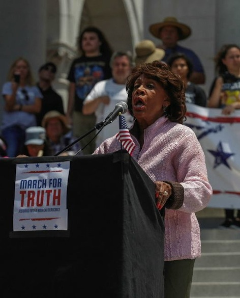 Black Racist Maxine Waters
