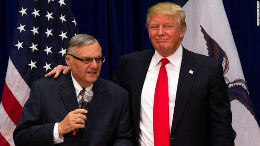 Trump and Sheriff Joe