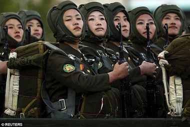 North Korean women