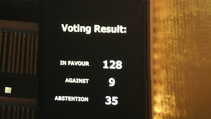 Jerusalem vote in UN