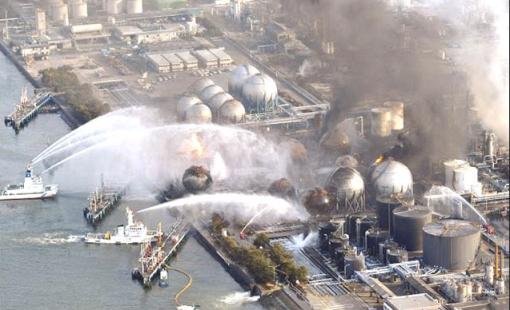 Fukushima fire hoses