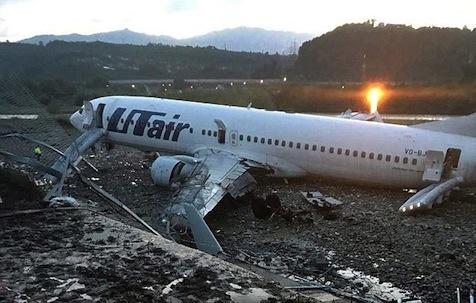Crash at Sochi