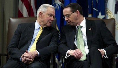 The Goon Squad: Sessions and Rosenstein