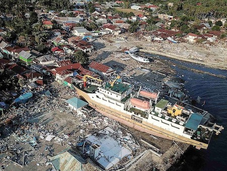 Indonesian quake and tsunami