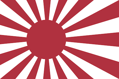 Naval ensign of the Empire of Japan