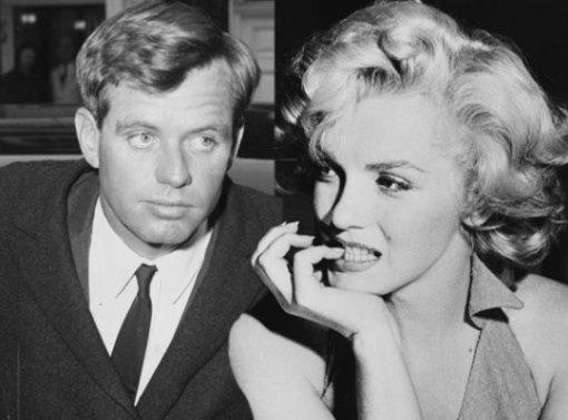 RFK and Marilyn Monroe