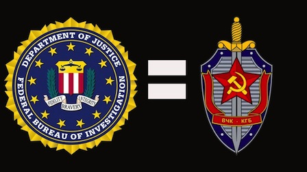 FBI is the new KGB