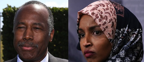 Ben Carson and Ilhan Omar