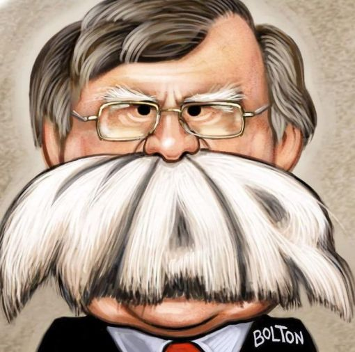 John Bolton enemy
