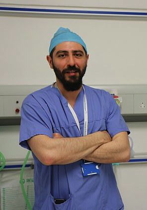 Surgeon Bassel Zebian