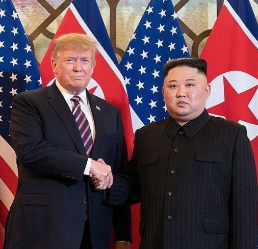Trump and Kim Jong-un